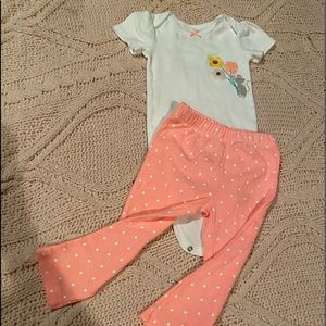 Carters 2 piece outfit girls 18 Months